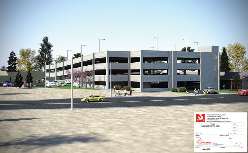 TA 03 Parking Structure