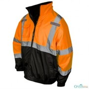 Black Orange Safety Designer Jacket