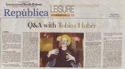 Q&A with Tobias Huber Republica International Herald Tribune