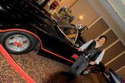 Batmobile with Eric