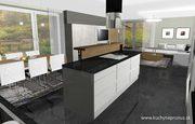 Moderný interiér domu - 3D vizualizácia