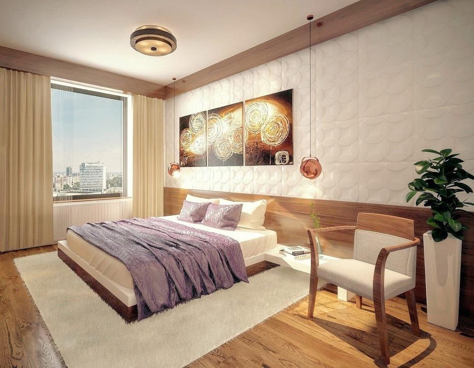 Návrh interiéru - Spálňa
