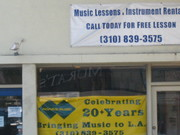 Adam's Music Store and Music lessons in Rancho Park