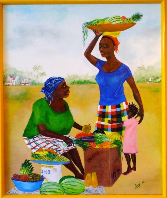 Schilderij Suriname