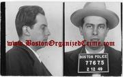 Larry Zannino, 1949 Boston Police booking photo