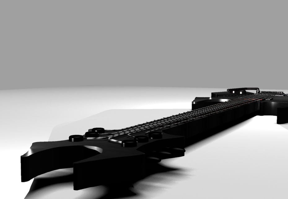 render guitarra