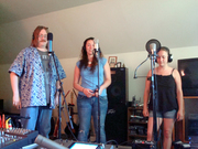 Giant Love recording session