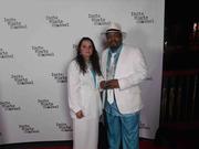 Artist Garry Moore & wife Carmen Moore at Indie Music Awards in Hollywood!