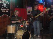 Drummer Andre & BassMan C.J.