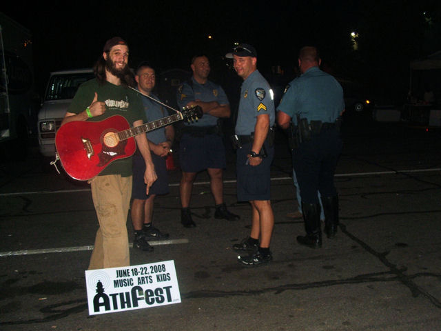athefest cops