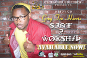 """official promo card for My cd """"Sent 2 Worship"""