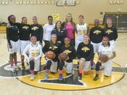 San Pedro High School Girls Basketball 2014-2015