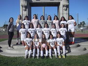 San Pedro High School Girls Soccer 2017-2018