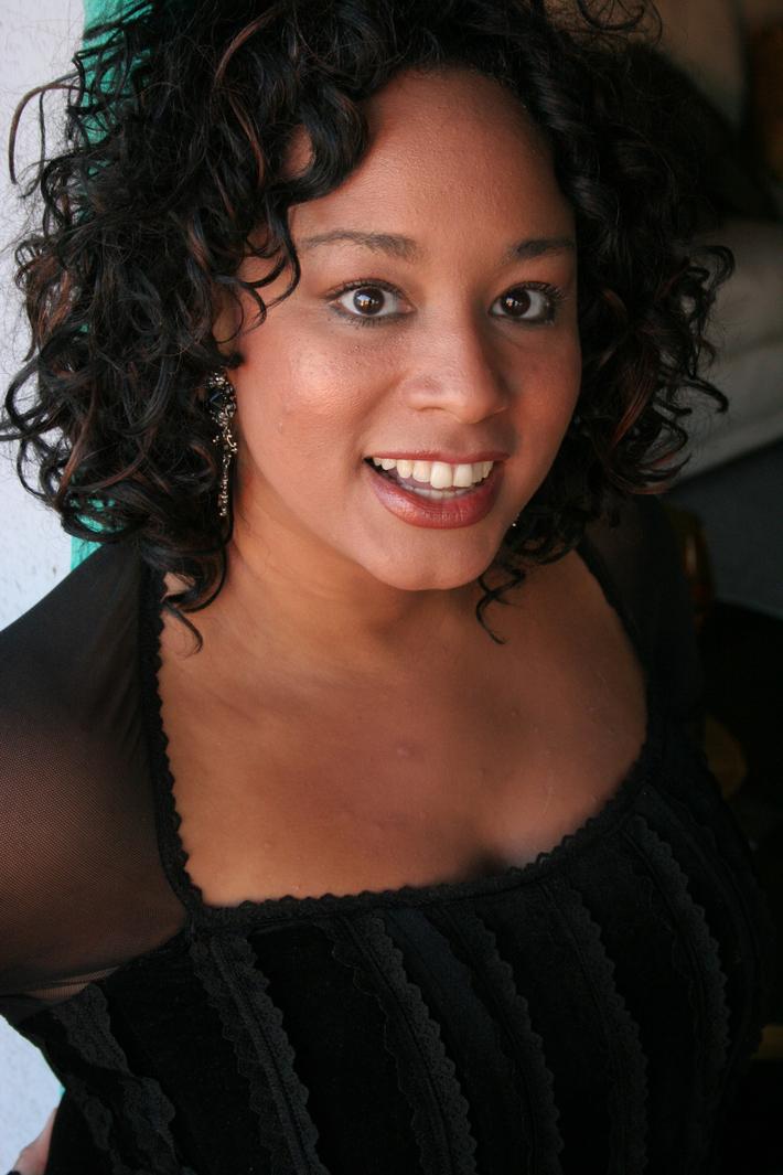 Sharon Black Standing #1