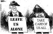 Occupy vs. Tea