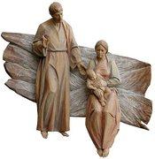 La Sagrada Familia tallada