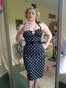 deadly dames wiggle dress