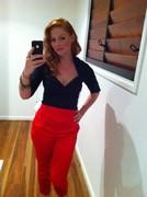 Doris Top & Black label trousers