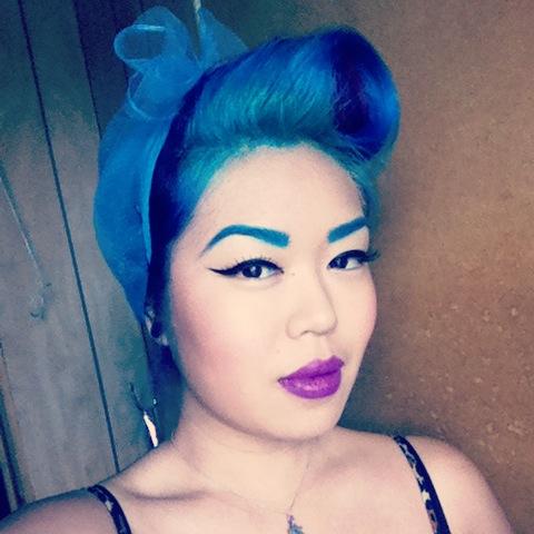 My current hair colour :)