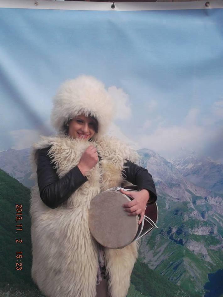 მცხეთაში და თან მთებში