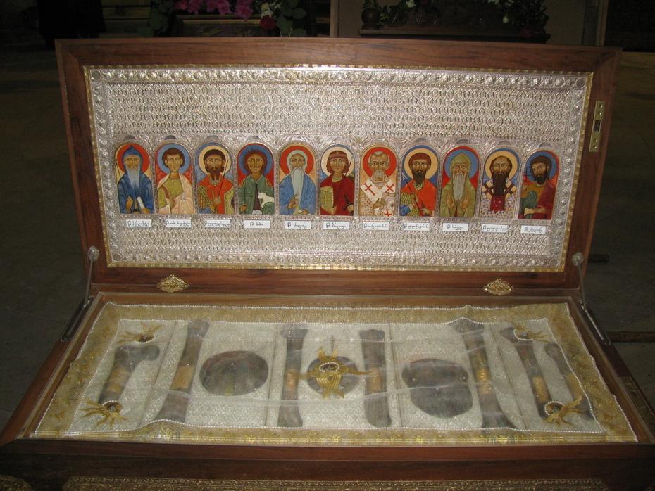 ბაგრატის ტაძრის სიწმინდეები