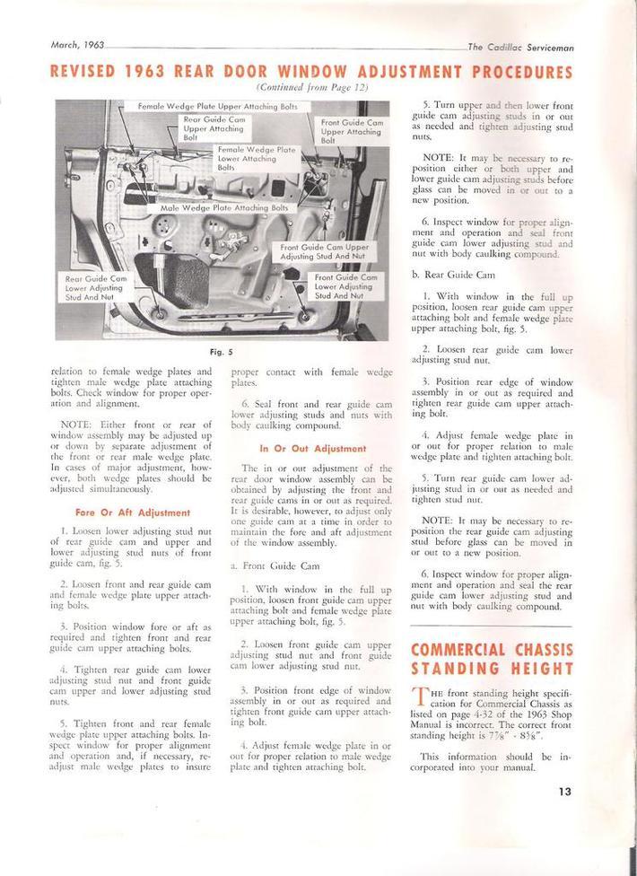 1963 Cadillac Serviceman pg13