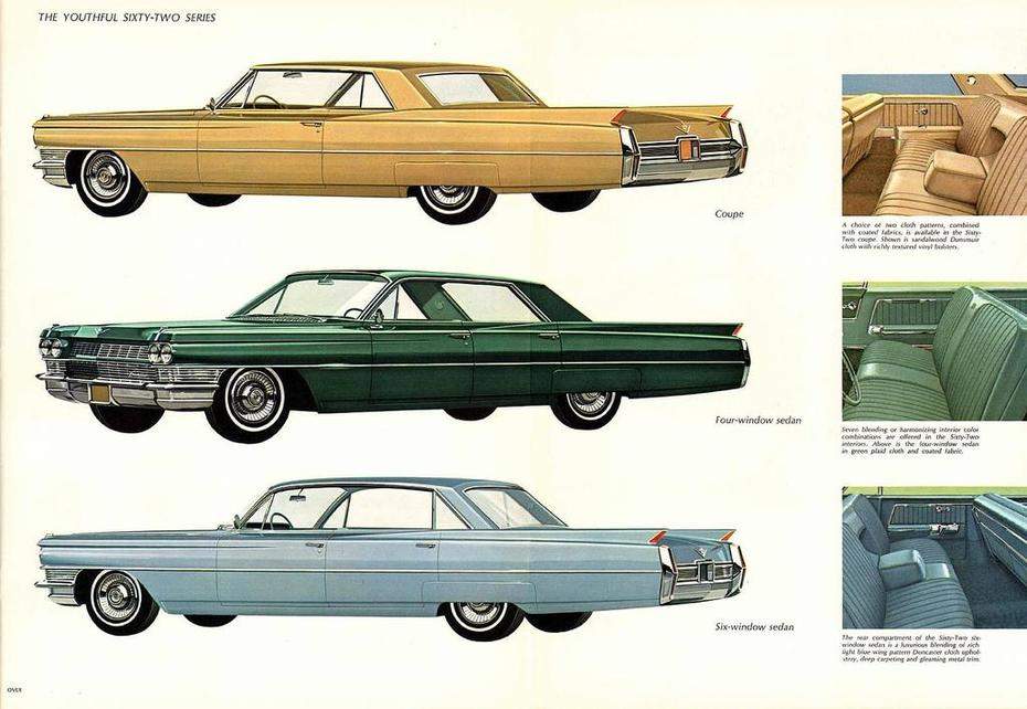 1964 Cadillac Brochure Page 7Foldout