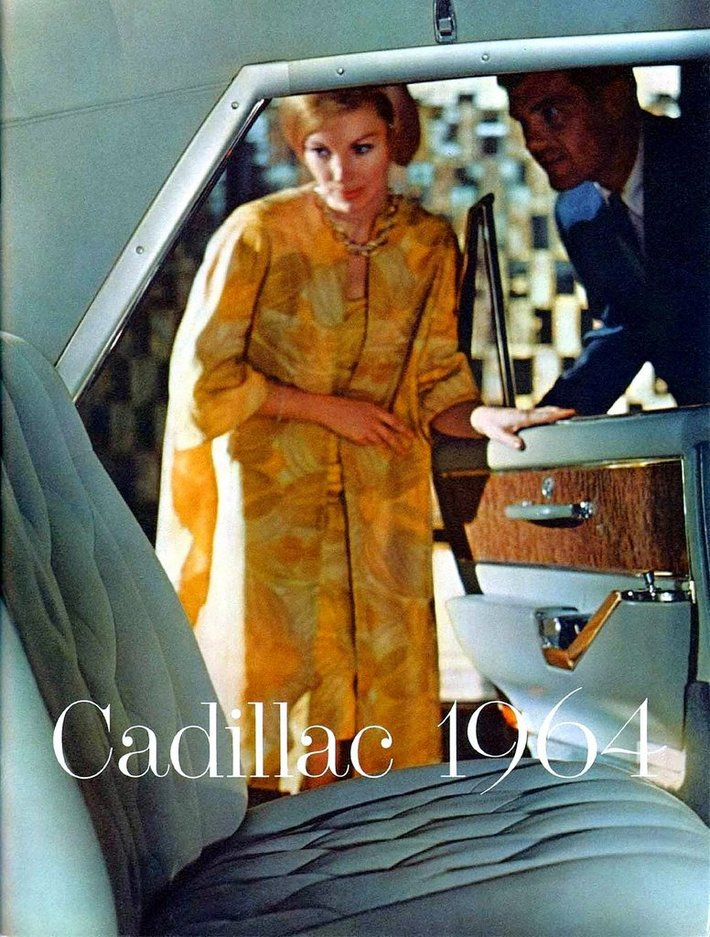 1964 Cadillac Brochure Front Cover
