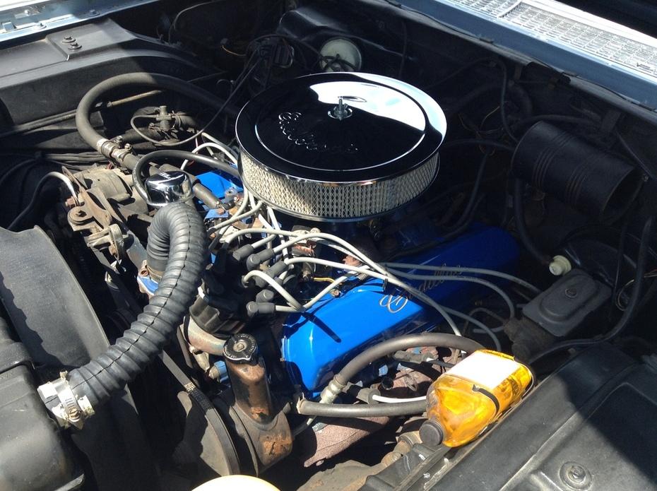 After engine rebuild
