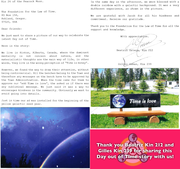 Day out of Time story from Kin 212 & Kin 239 in Canada