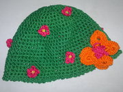 Mütze 'Blumenwiese'