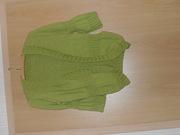 Jacke in grün aus Lace Silky