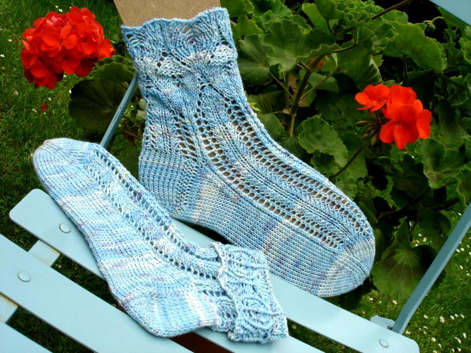 Ajour-Socken Nr. 49