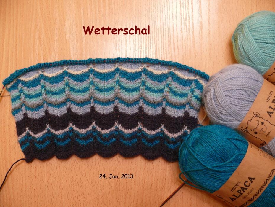 Wetterschal Stand 24.01.2013