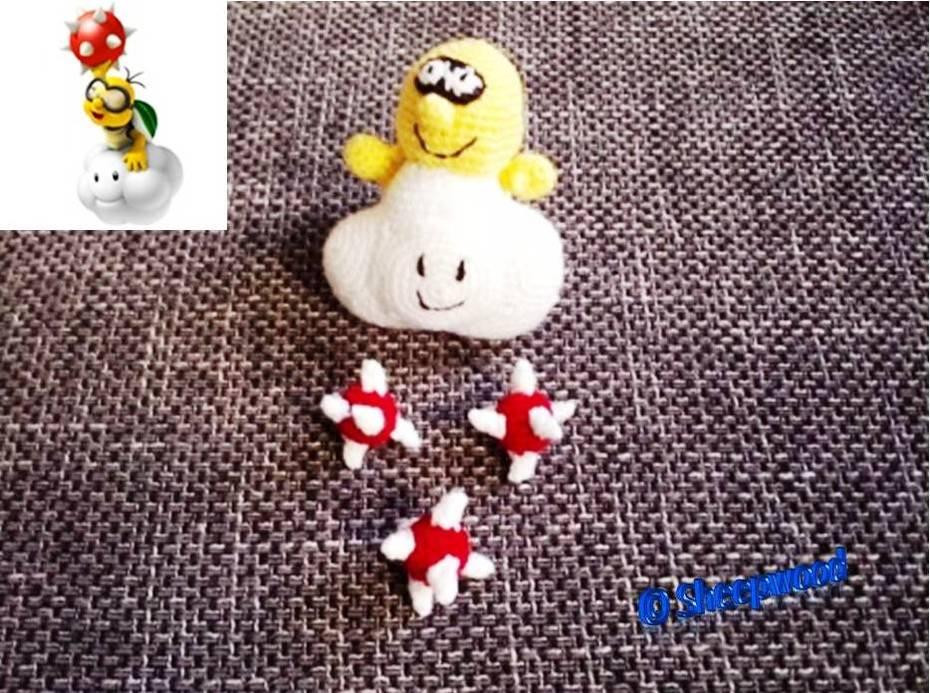 Lakitu und seine Stachi-Eier