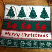 Weihnachtsdecke 5