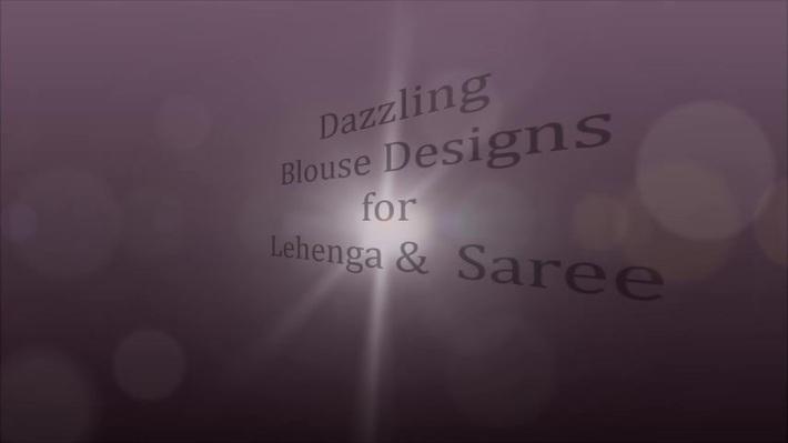 Trendsetter Lehenga/Saree Blouse Designs for Wedding Season