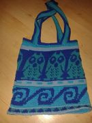 Tasche in Tapestry technik