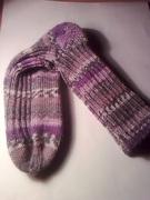 Socken lila