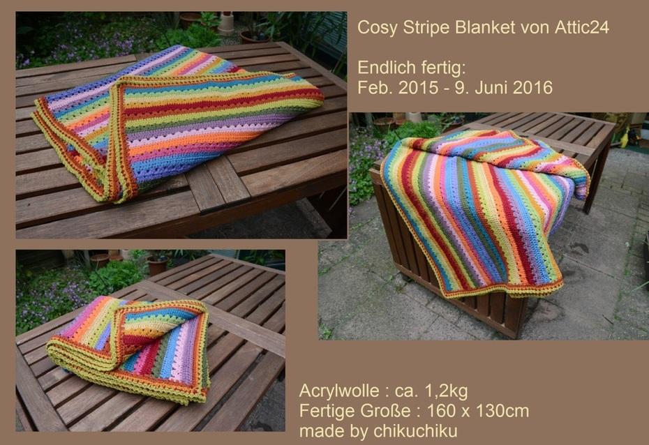 Attic24 Cosy Stripe Blanket