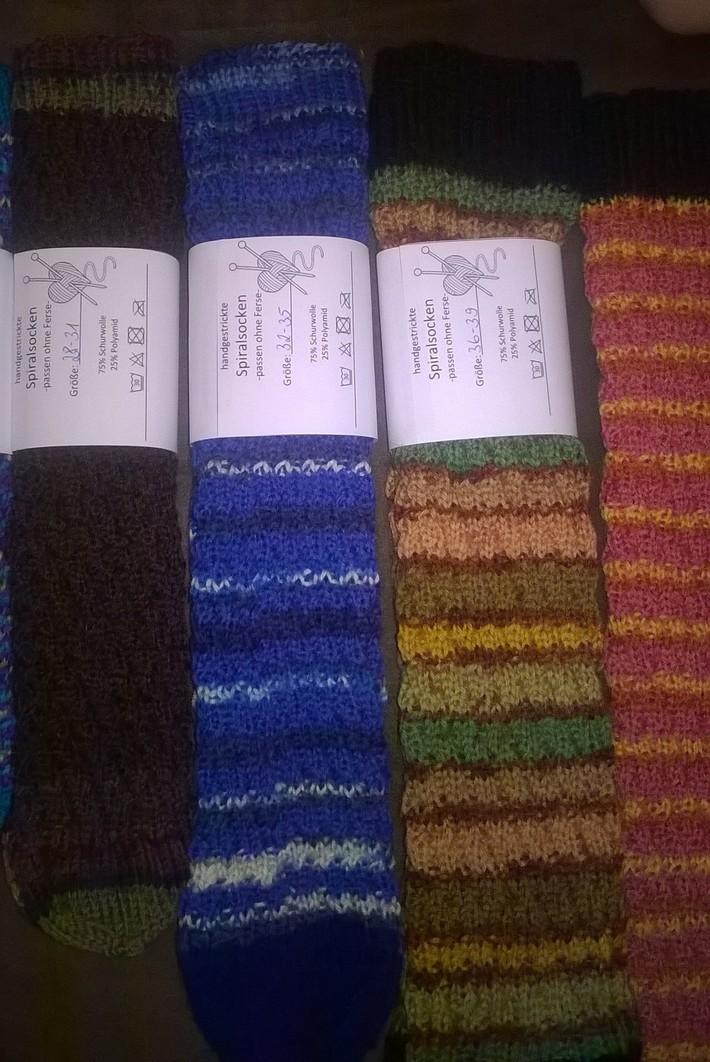 Socken für den Basar 2016