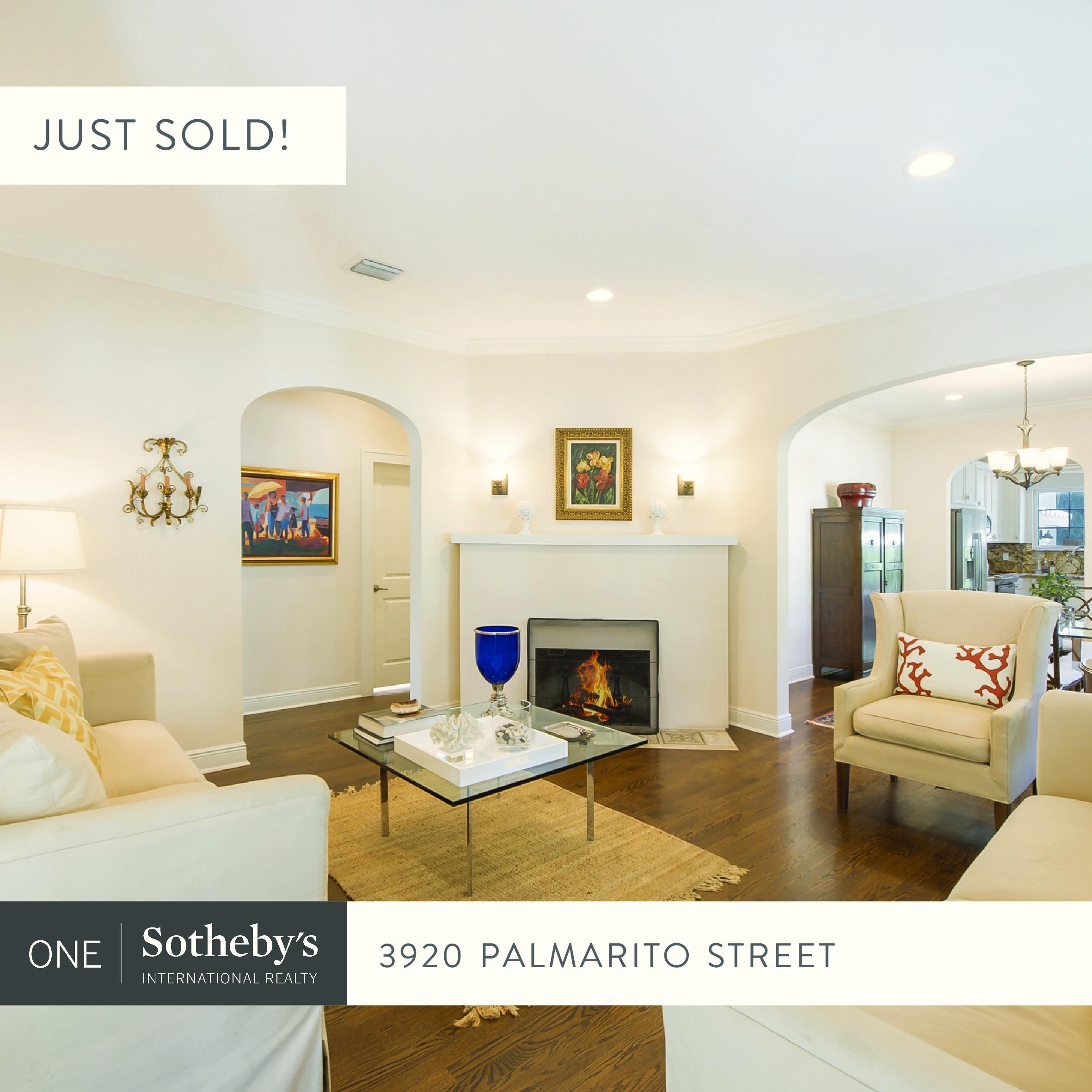 JUST SOLD! 3920 Palmarito Street, Coral Gables, FL