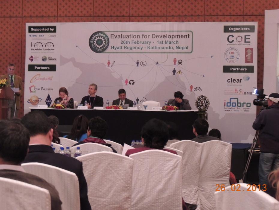 Evaluation for Development, Evaluation Conclave 2013