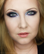 Emerald New Year's Eve Makeup