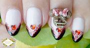 Disney Minnie Mouse Nail Art