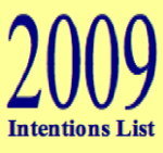 Our Collective Intentions for 2009 ++
