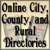 Online City, County, and Rural Directories Website