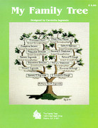 Needlework Family Trees Patterns Supplies