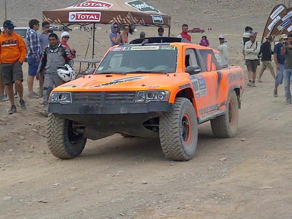 2015 Dakar Rally Stage 9 Finish