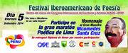 FESTIVAL IBEROAMERICANO DE POESÍA, 05 SETIEMBRE 2014, LIMA, PERU